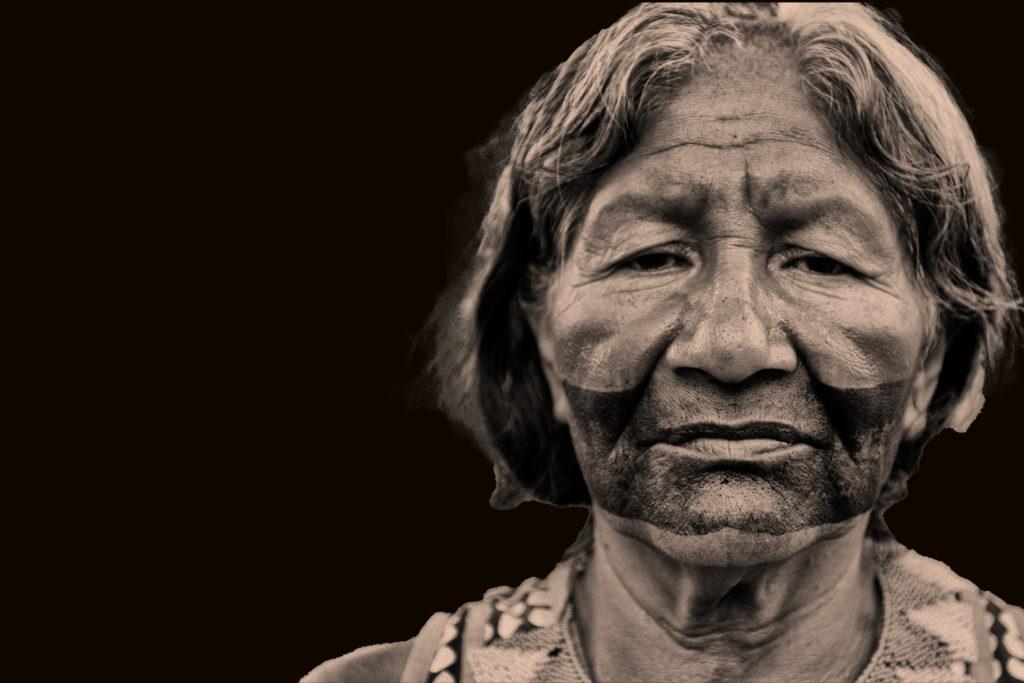 Frau der Munduruku