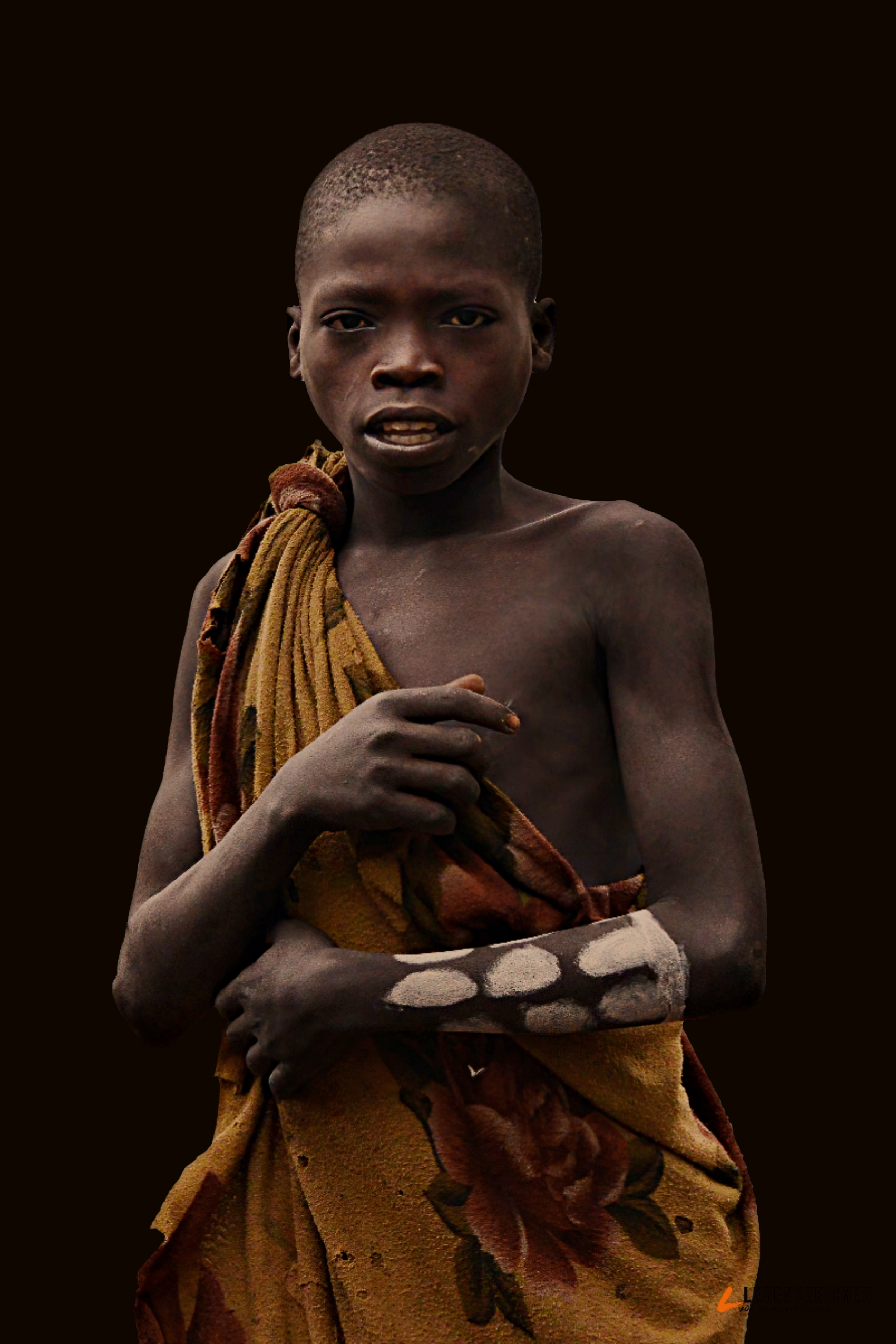 c Rod Waddington, Suri Junge, Äthopien